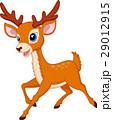 鹿 動物 マンガのイラスト 29012915