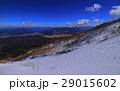 雪山の富士山6合目からの眺め 29015602