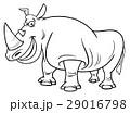 サイ さい 犀のイラスト 29016798