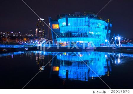 韓国 ソウル フローティングアイランド 夜景 Korea Seoul Floating Island 29017676