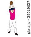 野球選手、ピッチャー、左投げ、投手 29019827