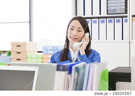 作業服 事務員 電話応対 29020367