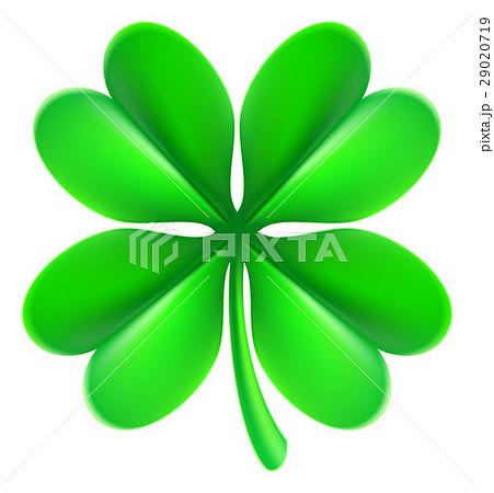 four leaf clover shamrockのイラスト素材 29020719 pixta