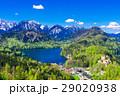ドイツ ホーエンシュバンガウ城とアルプ湖 29020938