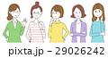 女性 グループ 噂のイラスト 29026242