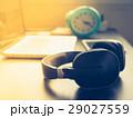 デスク ヘッドフォン PCの写真 29027559