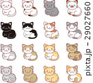 猫 ねこ ネコのイラスト 29027660
