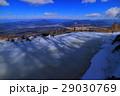 3月の富士山5合目泉ケ滝からの眺め 29030769