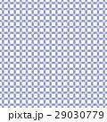 伝統和色、紅掛空色の四つ葉のクローバーのチェック風柄パターン、布、壁紙、風呂敷、帯、背景素材イラスト 29030779