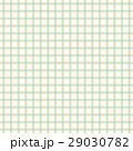 虹色の四つ葉のクローバーのチェック風柄パターン、布、壁紙、風呂敷、背景素材イラスト 29030782