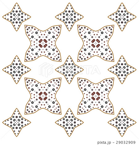 Primitive geometric sacra retro patternのイラスト素材 [29032909] - PIXTA
