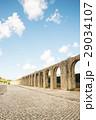 オビドス 石畳 水道橋の写真 29034107