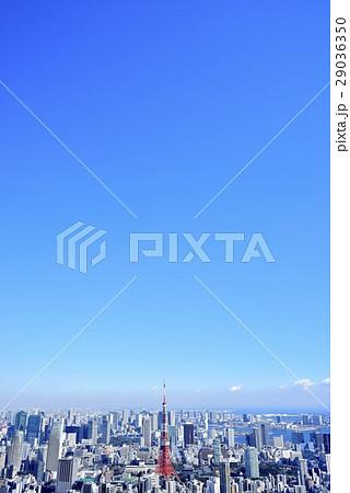 東京 都市風景 東京タワー 29036350