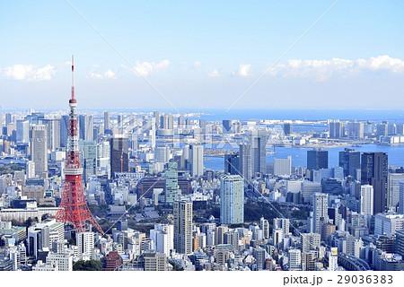東京 都市風景 東京タワー 29036383