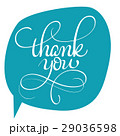 thank you vector text on green background 29036598