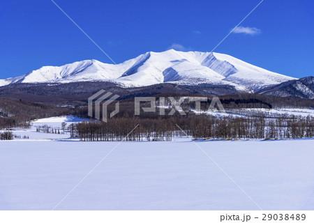 斜里町の海別岳の写真素材 [29038489] - PIXTA