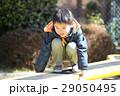 子供 スプリング遊具 男の子の写真 29050495