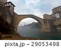 スターリ・モスト ネレトヴァ川 霧の写真 29053498