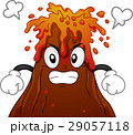 Mascot Volcano Angry 29057118