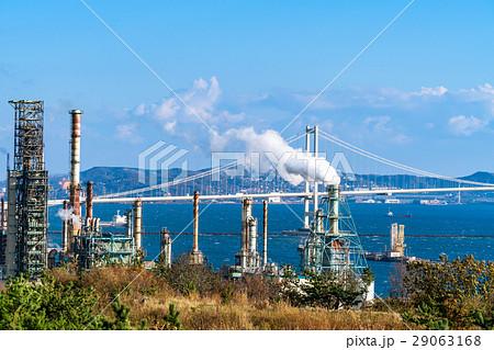 北海道】室蘭市・工業地帯の写真...