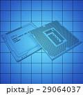 CPU 中央演算処理装置 プロセッサのイラスト 29064037