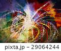 抽象的 アクリル カラーのイラスト 29064244