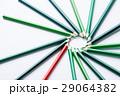 えんぴつ 鉛筆 環状の写真 29064382
