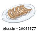 中華料理 餃子 ぎょうざのイラスト 29065577