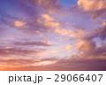 色の入り混じる綺麗な秋の夕暮れ 3 29066407