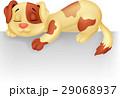 わんこ 犬 マンガのイラスト 29068937