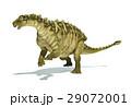 タラルルス 恐竜 立体のイラスト 29072001