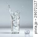 キューブ 立方体 滴のイラスト 29072127