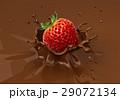 チョコレート 落ちる 落下のイラスト 29072134