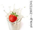 ガラス ガラス製 ミルクのイラスト 29072241