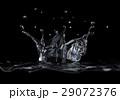 水 黒色 黒のイラスト 29072376