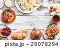 ワッフル 食 料理の写真 29078294