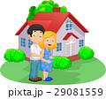 ファミリー 家庭 家族のイラスト 29081559