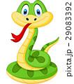 ヘビ 蛇 マンガのイラスト 29083392