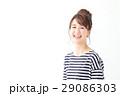 女性 若い お団子ヘアの写真 29086303