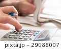 家計簿(レシートと電卓) 29088007