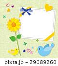 小鳥 ひまわり 父の日のイラスト 29089260