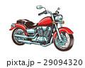 単車 ヴィンテージ チョッパーのイラスト 29094320