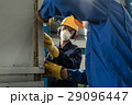 Two workers wearing protective equipment 29096447