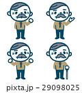 シニア 男性 ベクターのイラスト 29098025