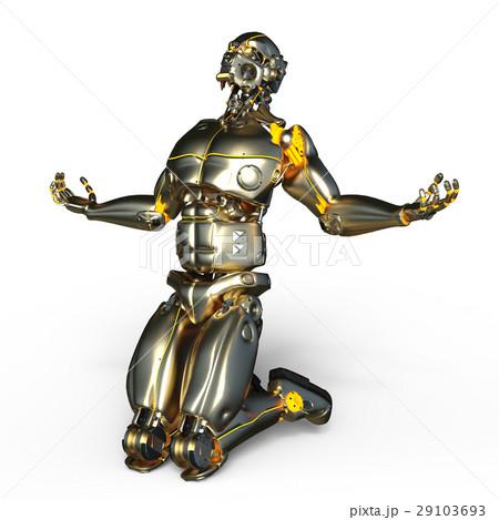 ロボットのイラスト素材 [29103693] - PIXTA