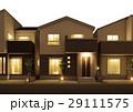 戸建住宅 夜景 29111575