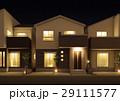 住宅 一戸建て 一軒家のイラスト 29111577
