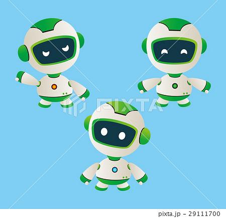 ロボットロボットイラストaiロボットロボットキャラのイラスト素材
