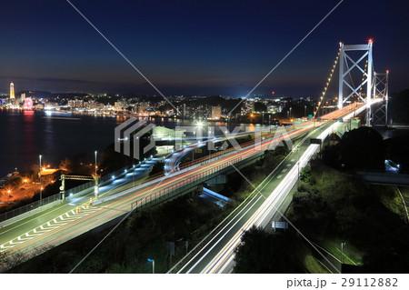関門橋の夜景Ⅰ 29112882