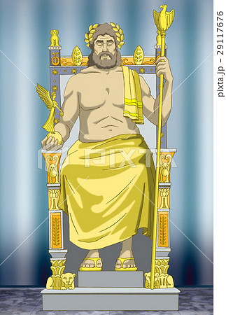Statue of Zeusのイラスト素材 [29117676] - PIXTA